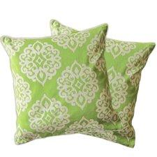 Sophie Zipper Shell Throw Pillow (Set of 2)