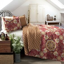 Addington 3 Piece Reversible Coverlet Set