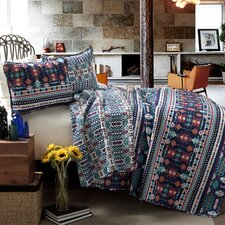 Navajo 3 Piece Coverlet Set
