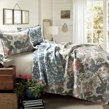 Sydney 3 Piece Reversible Coverlet Set
