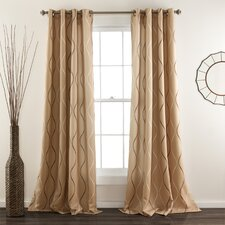 Swirl Curtain Panel (Set of 2)