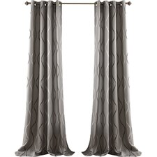 Swirl Curtain Panel (Set of 4)