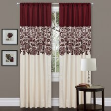 Estate Garden Rod Pocket Single Curtain Panel