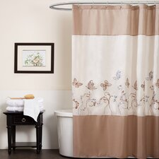 Butterfly Dreams Polyester Shower Curtain