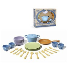 27 Piece Cookware and Dinnerware Set