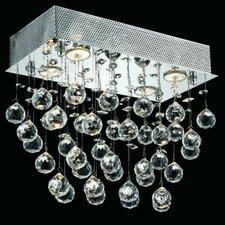Galaxy 4 Light LED Ceiling or Semi Flush Mount