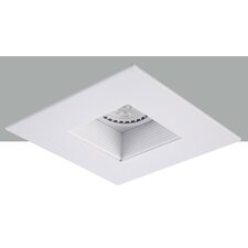 "Square Adjustable Baffle 4"" Recessed Trim"