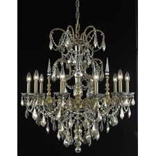 Athena 10 Light Chandelier