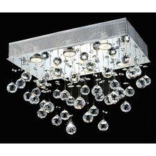 Galaxy 6 Light LED Ceiling or Semi Flush Mount