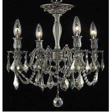 Rosalia 4 Light Ceiling Chandelier