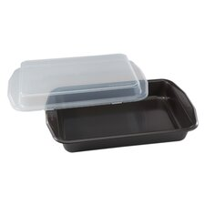 Signature™ Oblong Cook N' Carry Cake Pan
