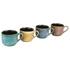 4 Piece 16 oz. Reactive Mug Set (Set of 4)