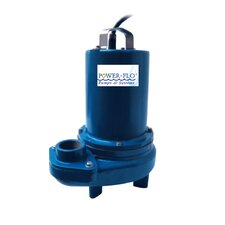 1/2 HP Sewage Submersible Pump with 5.9 Amps Manual Operation