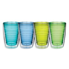 16 Oz. Cool Insulated Tumbler (Set of 4)