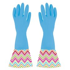 Cuffed Kitchen and Bath Cleaning Gloves