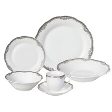 Elizabeth 24 Piece Porcelain Dinnerware Set