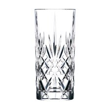 Melodia RCR Crystal 11 Oz. Highball Glass (Set of 6)