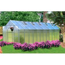 Monticello 8 Ft. W x 24 Ft. D Polycarbonate Greenhouse