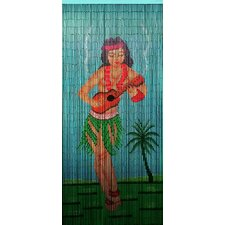 Hula Dancer Single Curtain Panel