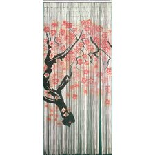 Cherry Blossom Single Curtain Panel