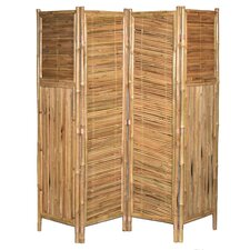 "71"" x 72"" Screen Middle Diagonal 4 Panel Room Divider"