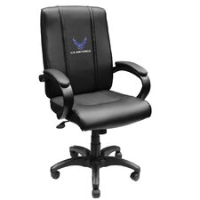 Armed Forces High-Back Executive Chair with Arms