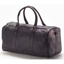 "Vachetta Barrel 19"" Leather Travel Duffel"
