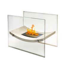 Glass Bio-Ethanol Fire Pit Table