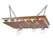 24 Hanging Wine Glass Rack