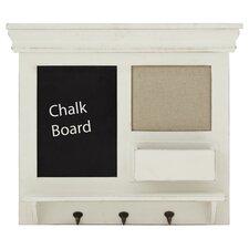 Chalkboard Wall Rack & Memo Board