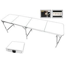 Blank Customizable Beer Pong Table in Standard Aluminum