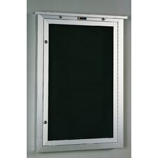No. 548 Outdoor Changeable Letter Directory Wall Mounted Letter Board