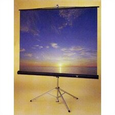Perfecta Matte White Portable Projection Screen