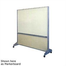 Premiere Room Divider Free Standing Combination Bulletin Board