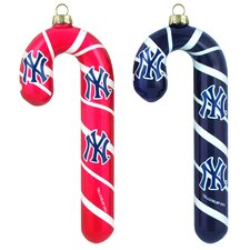 MLB Blown Candy Cane (Set of 2)