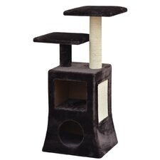 "40"" Abstract Design Multi Platform Cat Tree"
