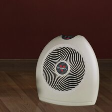 1,500 Watt Portable Electric Fan Compact Heater with Adjustable Thermostat