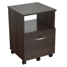 Uffici Commercial 1 Drawer Mobile Filing Cabinet