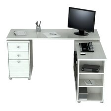 L Shaped Computer Work Station Desk