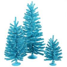 Mini Décor Sky Blue Mini Tree Set