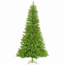 7.5' Lime/Green Tinsel Christmas Tree