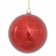 Shiny Mercury Ball Christmas Ornament