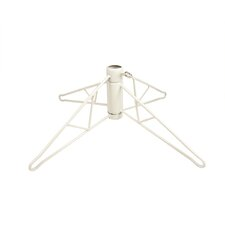 7.5' White Artificial Christmas Tree with Stand