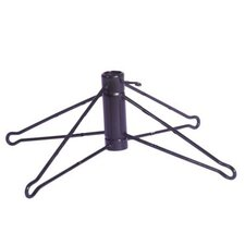 Black Metal Artificial Christmas Tree with Stand