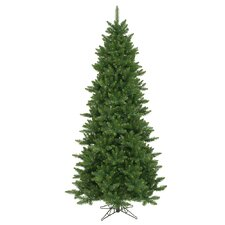 Camdon Fir 8.5' Green Artificial Slim Christmas Tree with Stand