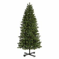 Grand Teton 7.5' Green Slim Artificial Christmas Tree