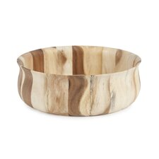 Natural Acacia Bloom Bowl