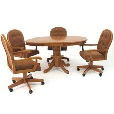 Classic Pedestal Extendable Table