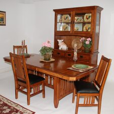 Arts and Crafts Pasadena Trestle Dining Top Table