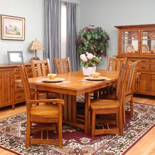 Arts and Crafts Bungalow Extendable Dining Table